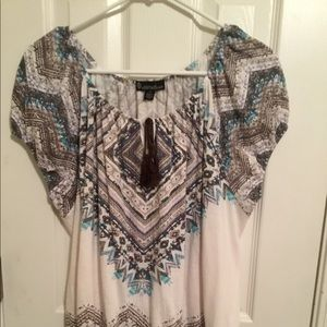 Women's Short Sleeve Top by Signature/Studio NWOT